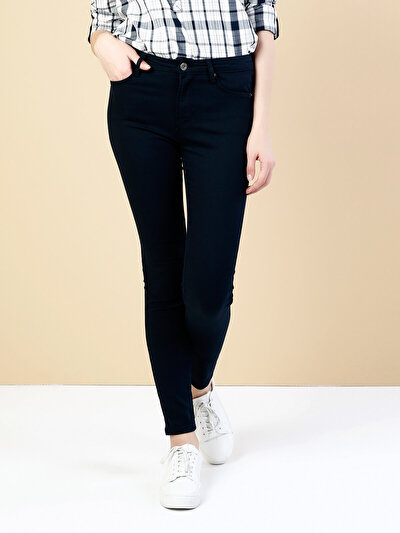 COLINS синий женский брюки<br>Пол: женский; Цвет: синий; Размер INT: 30/30;