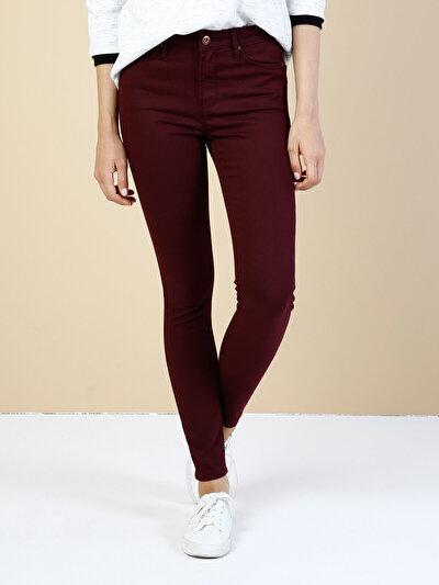 COLINS пурпурный женский брюки<br>Пол: женский; Цвет: сливовый; Размер INT: 30/30;