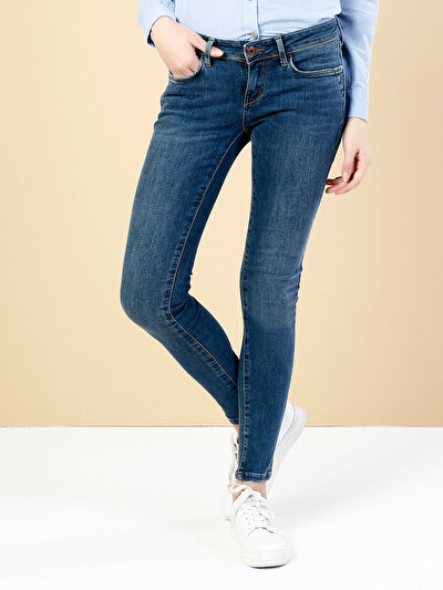 COLINS  женский брюки<br>Пол: женский; Цвет: цедрус уош; Размер INT: 25/32;