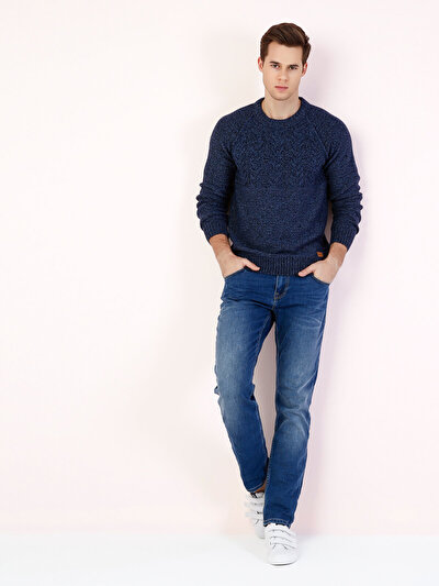 COLINS голубой <br>Пол: мужской; Цвет: ензіо уош; Размер INT: 33/34;