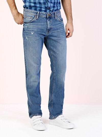 COLINS  мужской брюки<br>Пол: мужской; Цвет: киндон уош; Размер INT: 34/34;