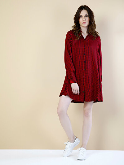 COLINS красный женский платья<br>Пол: женский; Цвет: красный; Размер INT: XL;