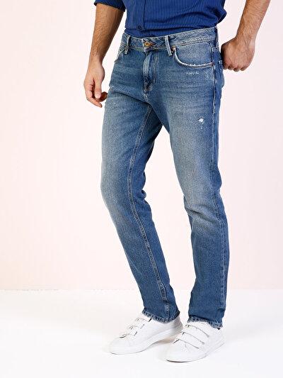 COLINS  мужской брюки<br>Пол: мужской; Цвет: киндон уош; Размер INT: 33/34;