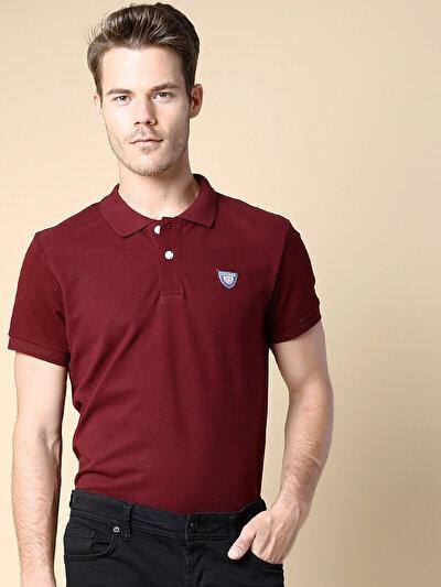 COLINS бордовый мужской футболки-поло к. рукав<br>Пол: мужской; Цвет: бордовый; Размер INT: S;
