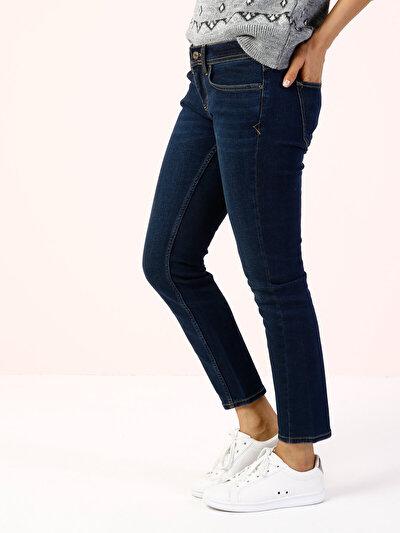 COLINS  женский брюки<br>Пол: женский; Цвет: фризби уош; Размер INT: 28/28;
