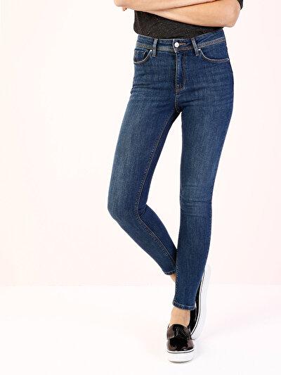 COLINS  женский брюки<br>Пол: женский; Цвет: сентинел уош; Размер INT: 24/30;