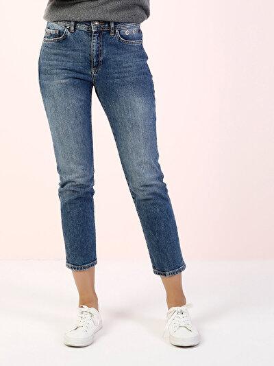 COLINS  женский брюки<br>Пол: женский; Цвет: скозия уош; Размер INT: 31/28;