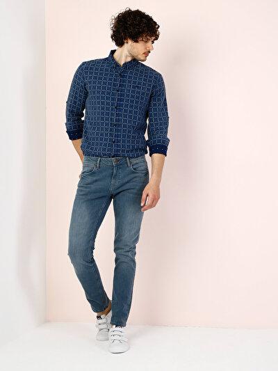 COLINS  мужской брюки<br>Пол: мужской; Цвет: невада мытый; Размер INT: 32/34;