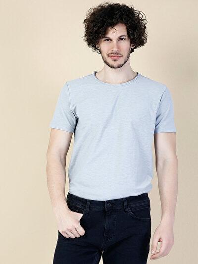 COLINS серый мужской футболки короткий рукав<br>Пол: мужской; Цвет: серый; Размер INT: XL;