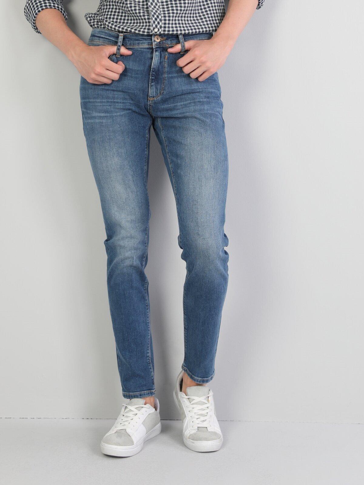 Показать информацию о Мужские узкие джинсы  041 DANNY slim fit CL1045902