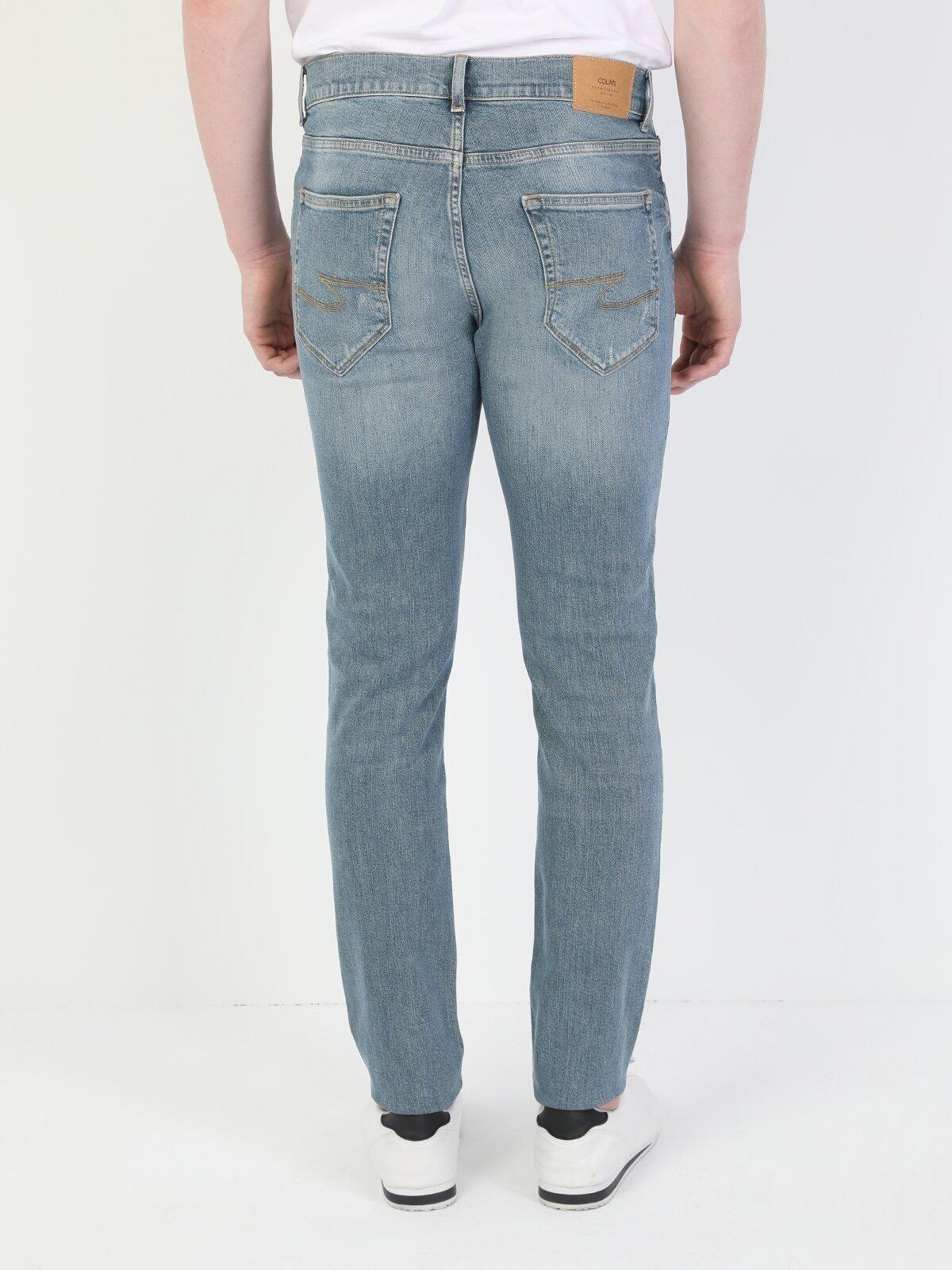 Показать информацию о Мужские узкие джинсы  040 RICKY CL1049562