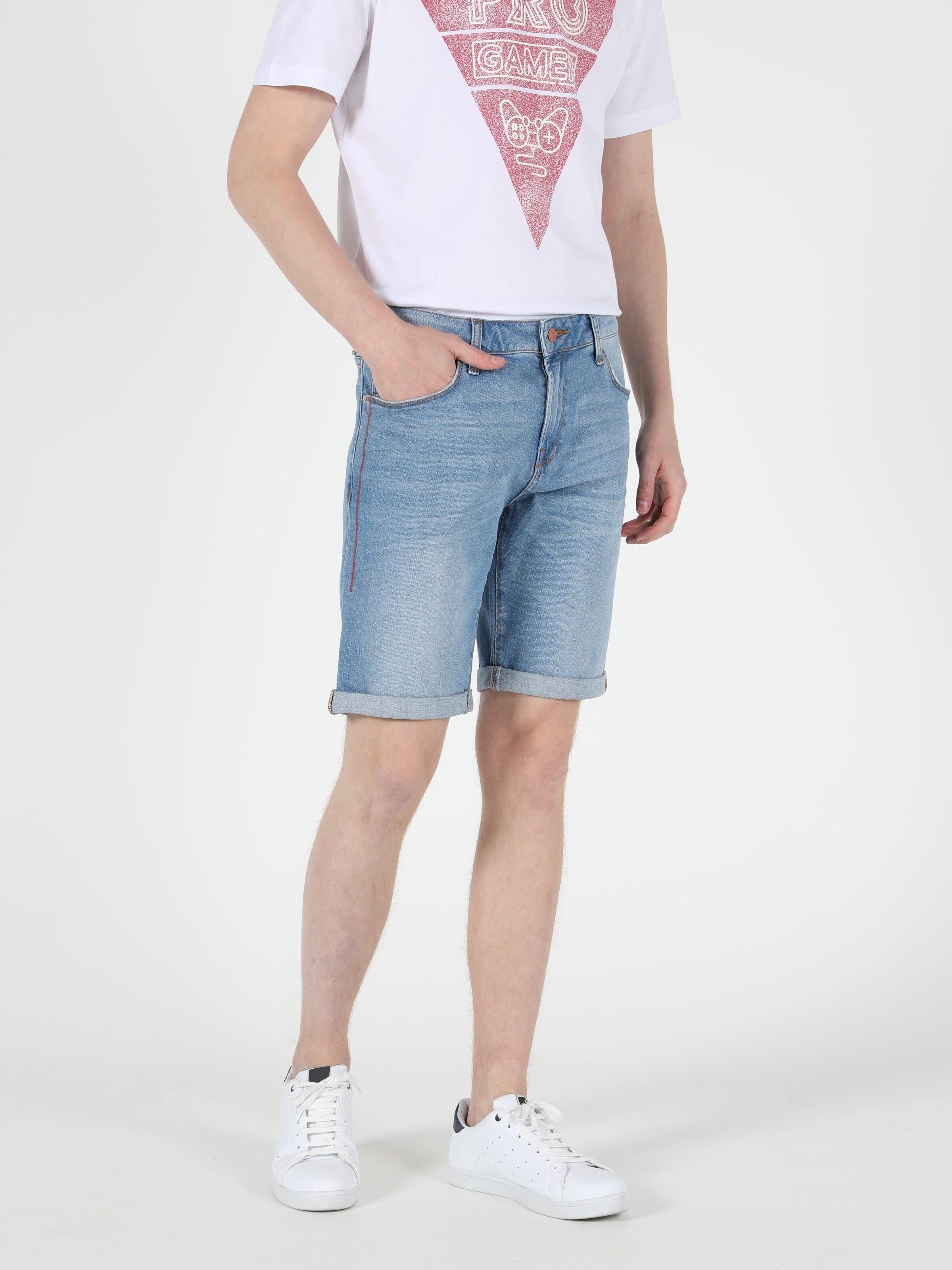 Показать информацию о Мужские классические шорты Straight Fit 044 KARL CL1049603