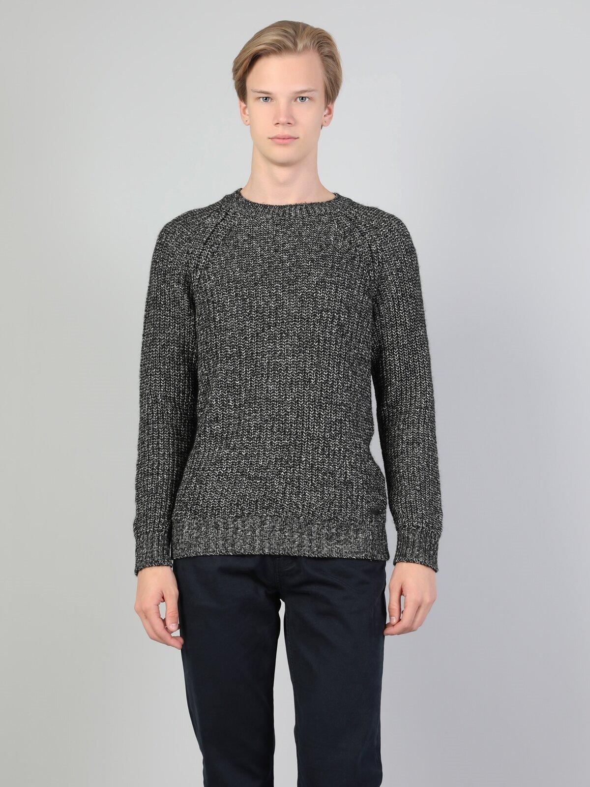Показать информацию о Мужской свитер slim fit CL1044159