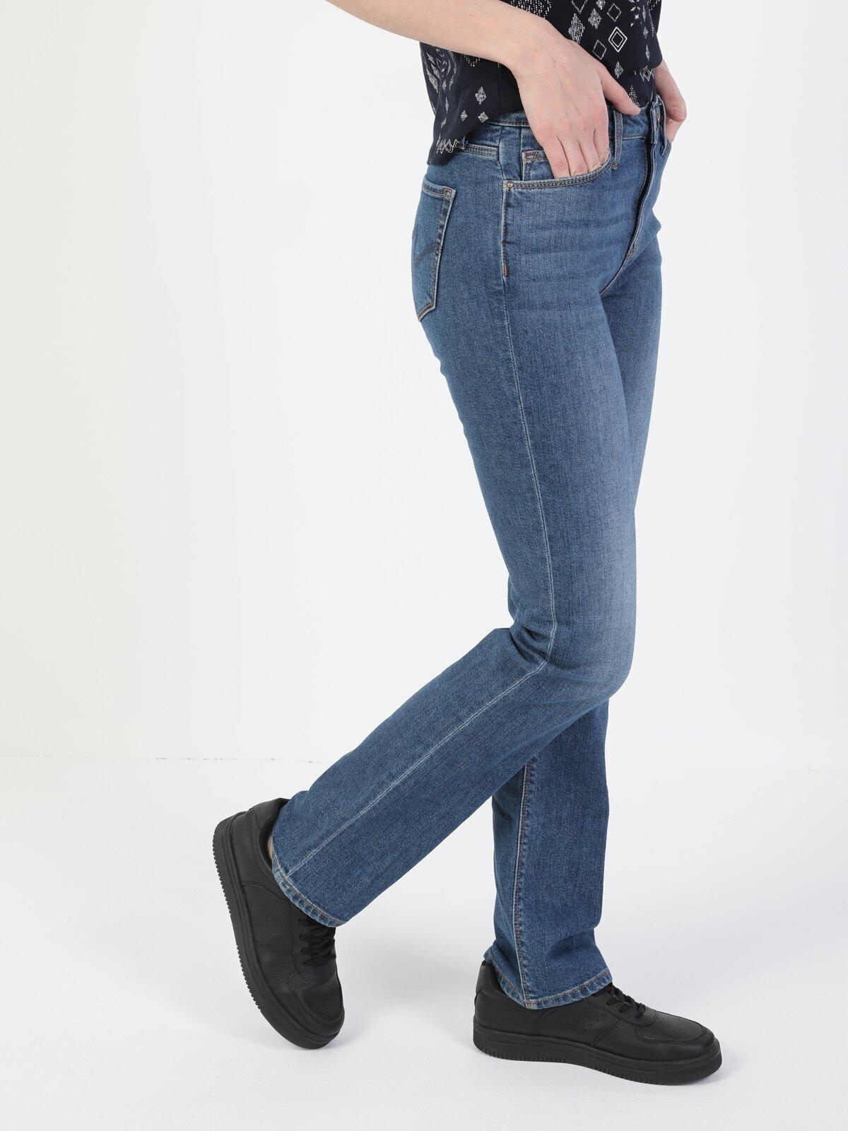 Показать информацию о Женские прямые джинсы  792 MILA regular fit CL1049666