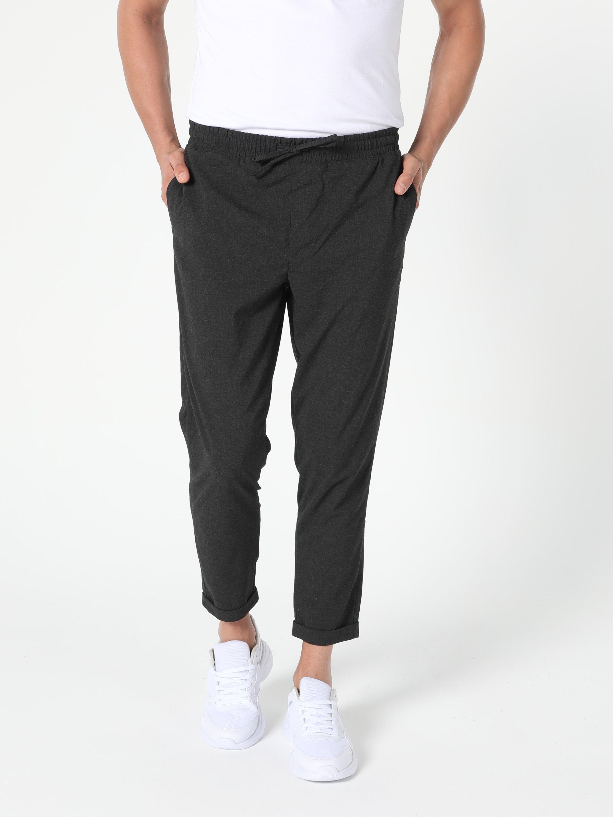 Показать информацию о Мужские прямые брюки  CL1049757