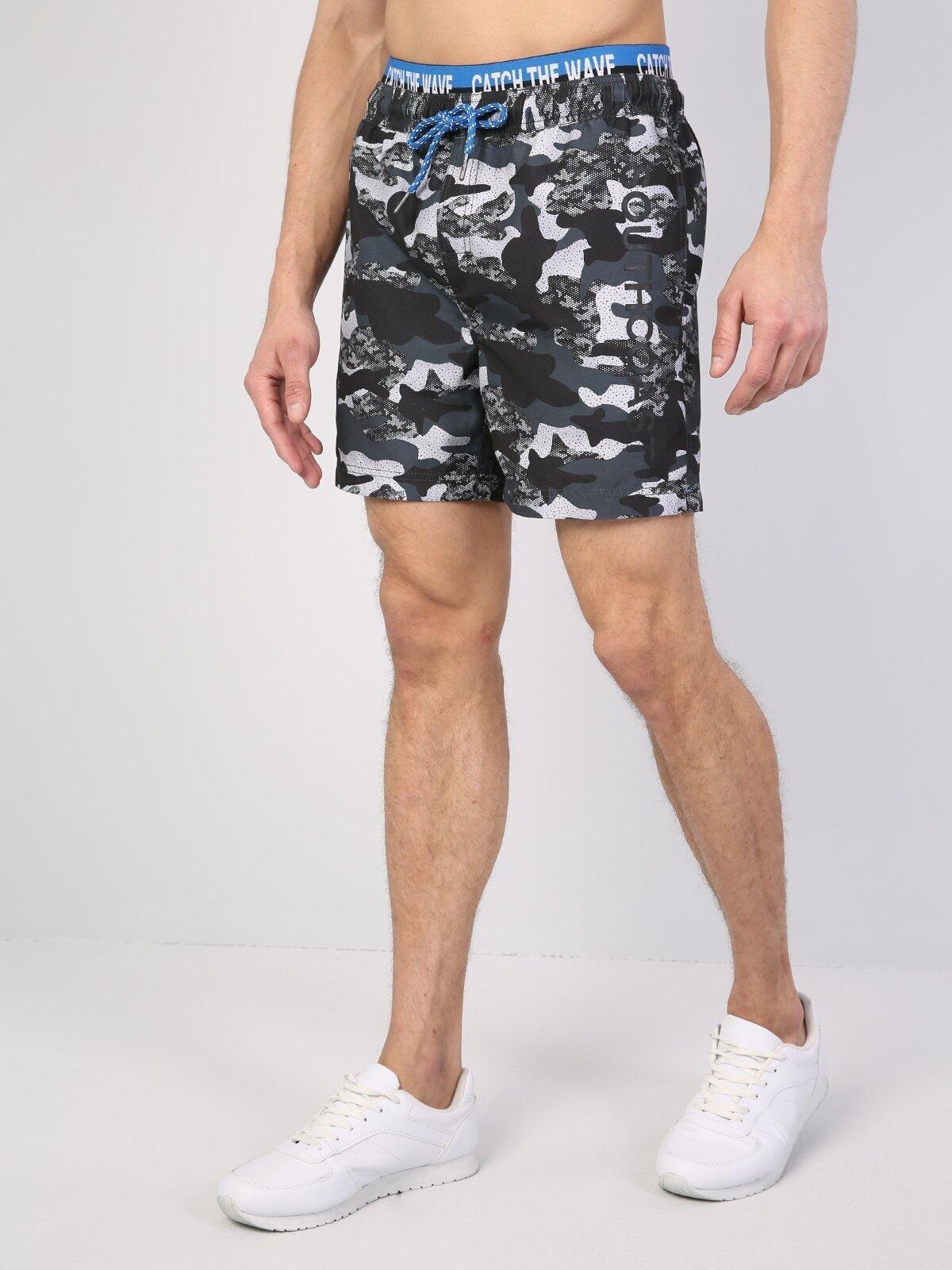 Показать информацию о Мужские пляжные шорты slim fit CL1043001