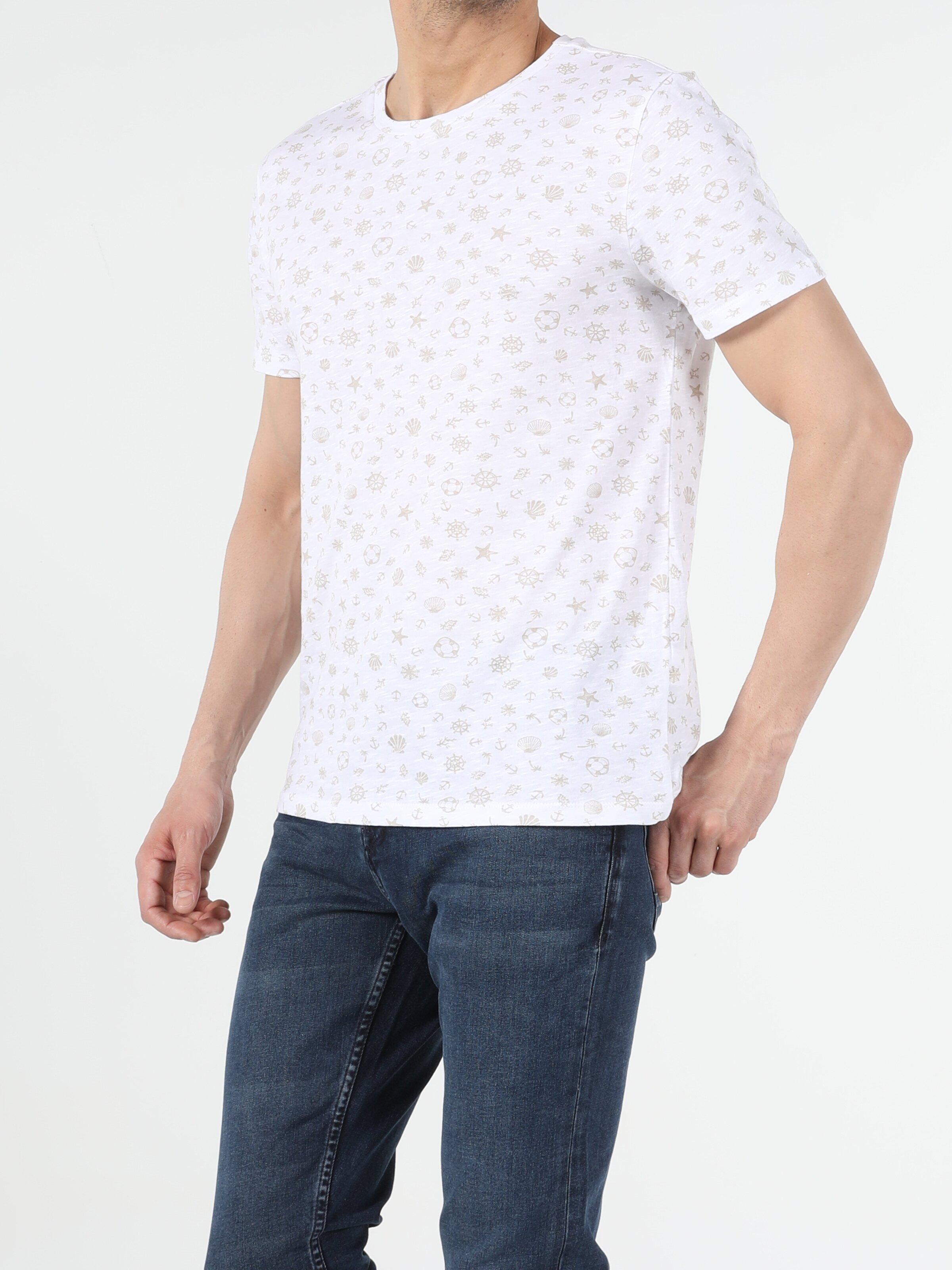 Показать информацию о Мужская футболка с коротким рукавом regular fit CL1053680