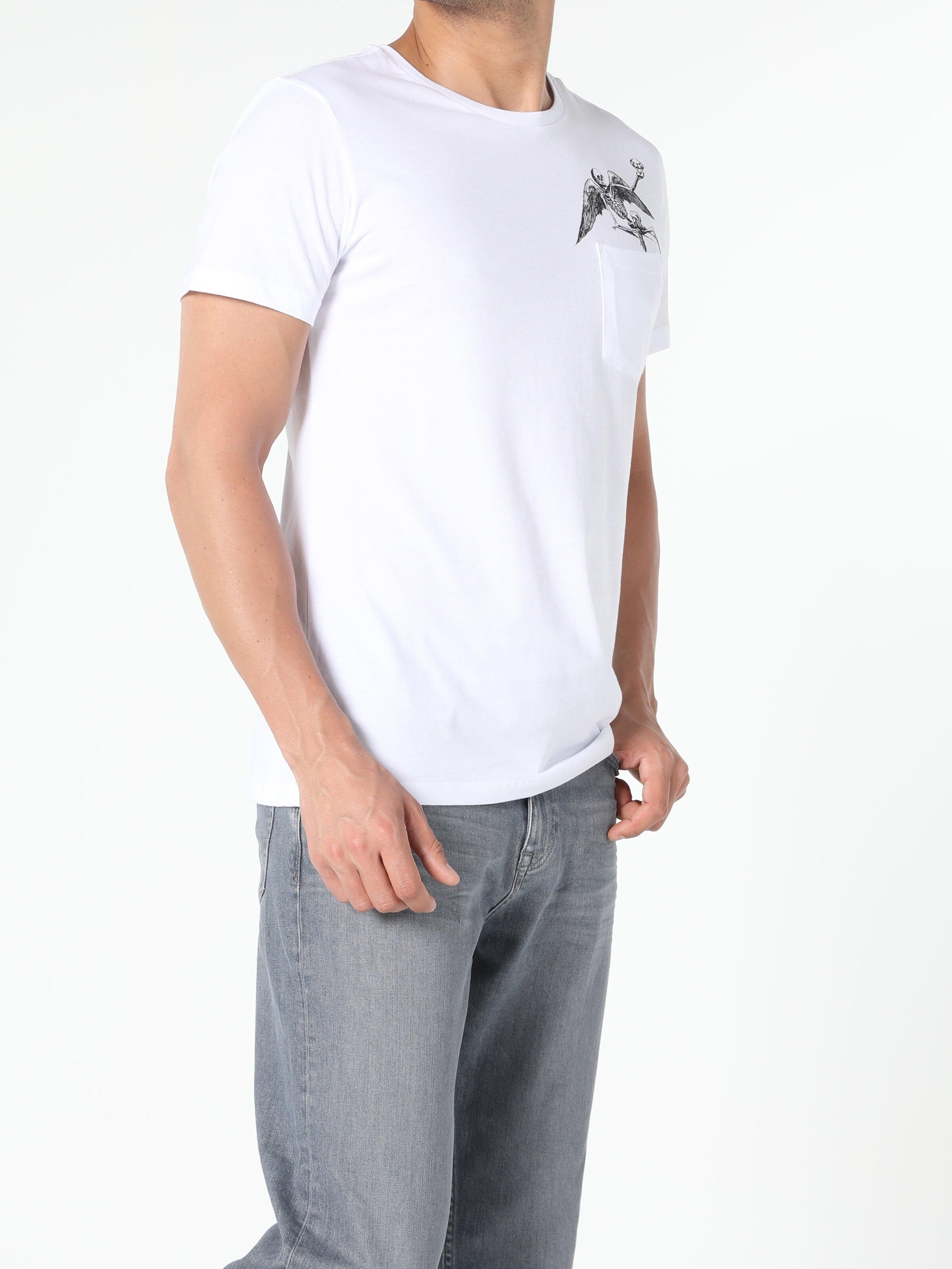 Показать информацию о Мужская футболка с коротким рукавом regular fit CL1056437