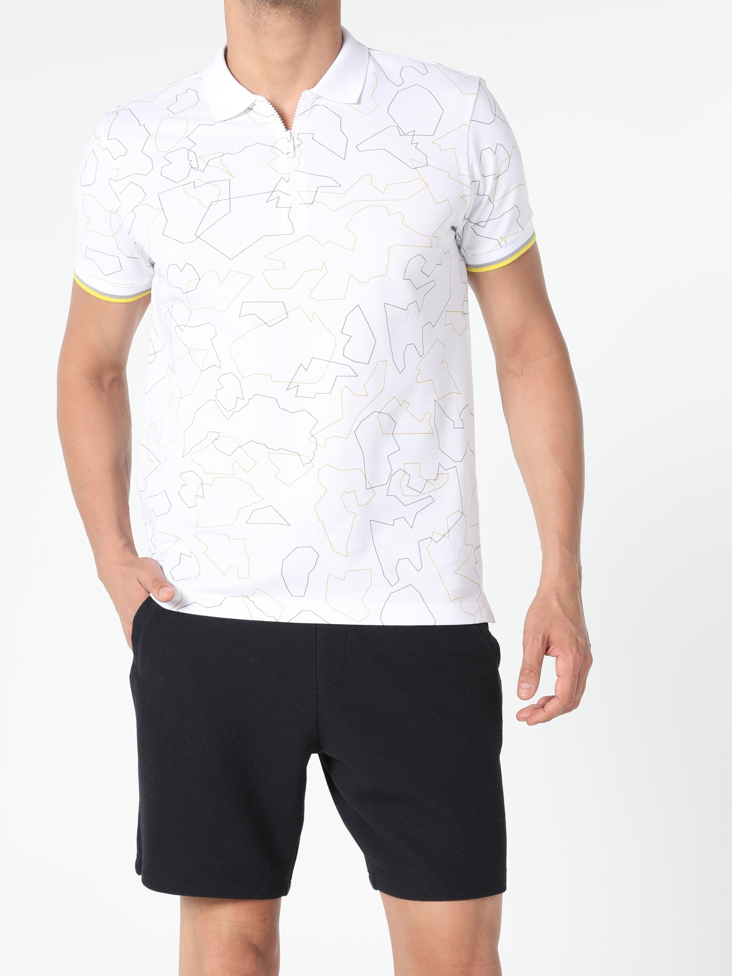Показать информацию о Мужская футболка-поло regular fit CL1053823