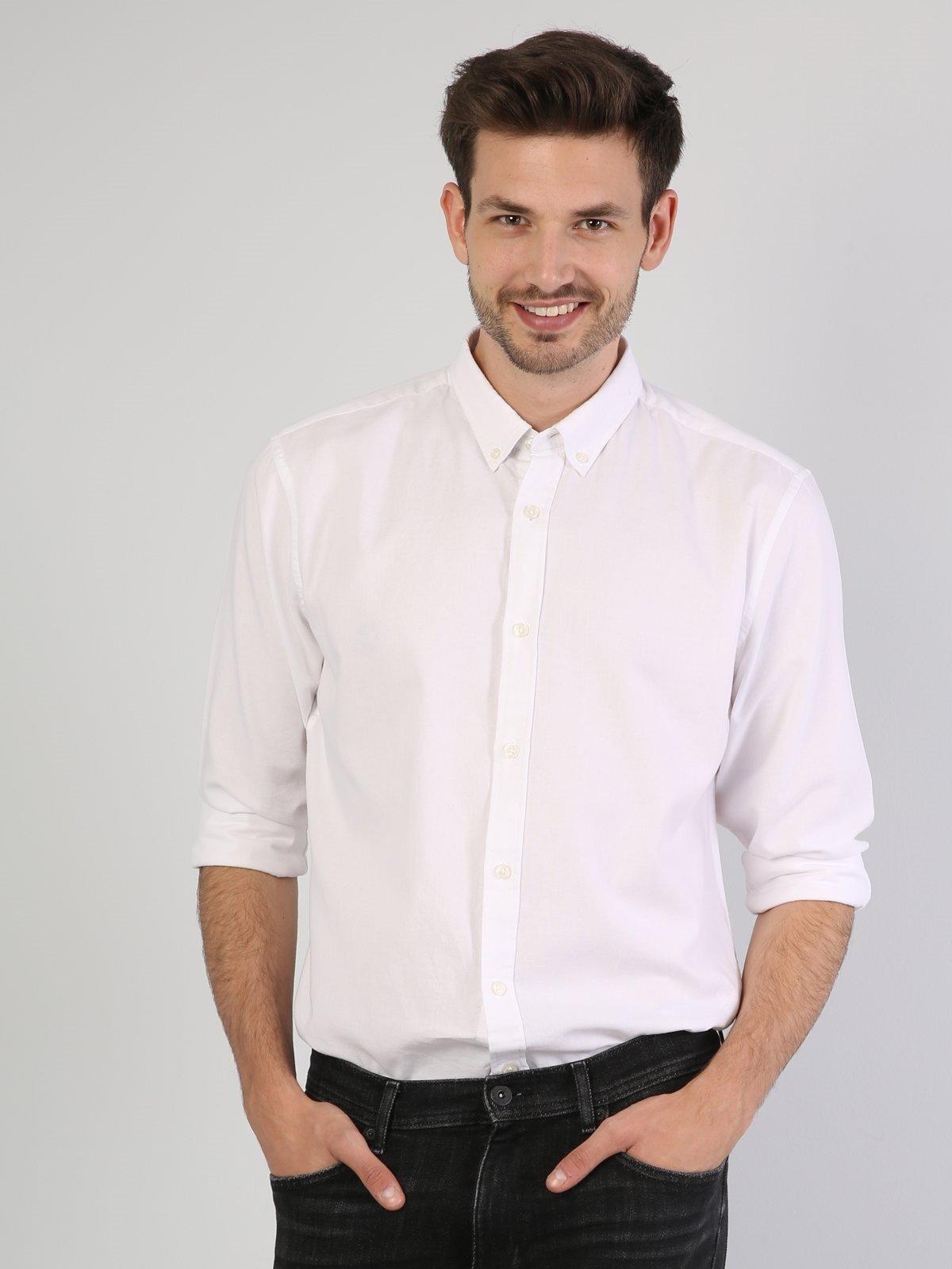 Изображение Белый муж. Рубашки Длинний рукав