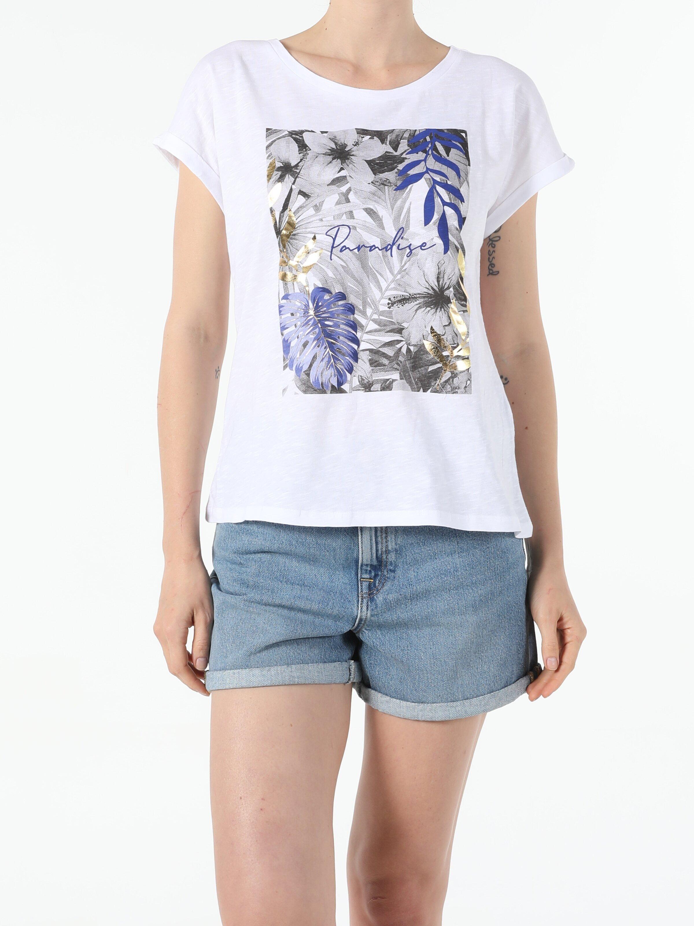 Показать информацию о Женская футболка с коротким рукавом regular fit CL1054416