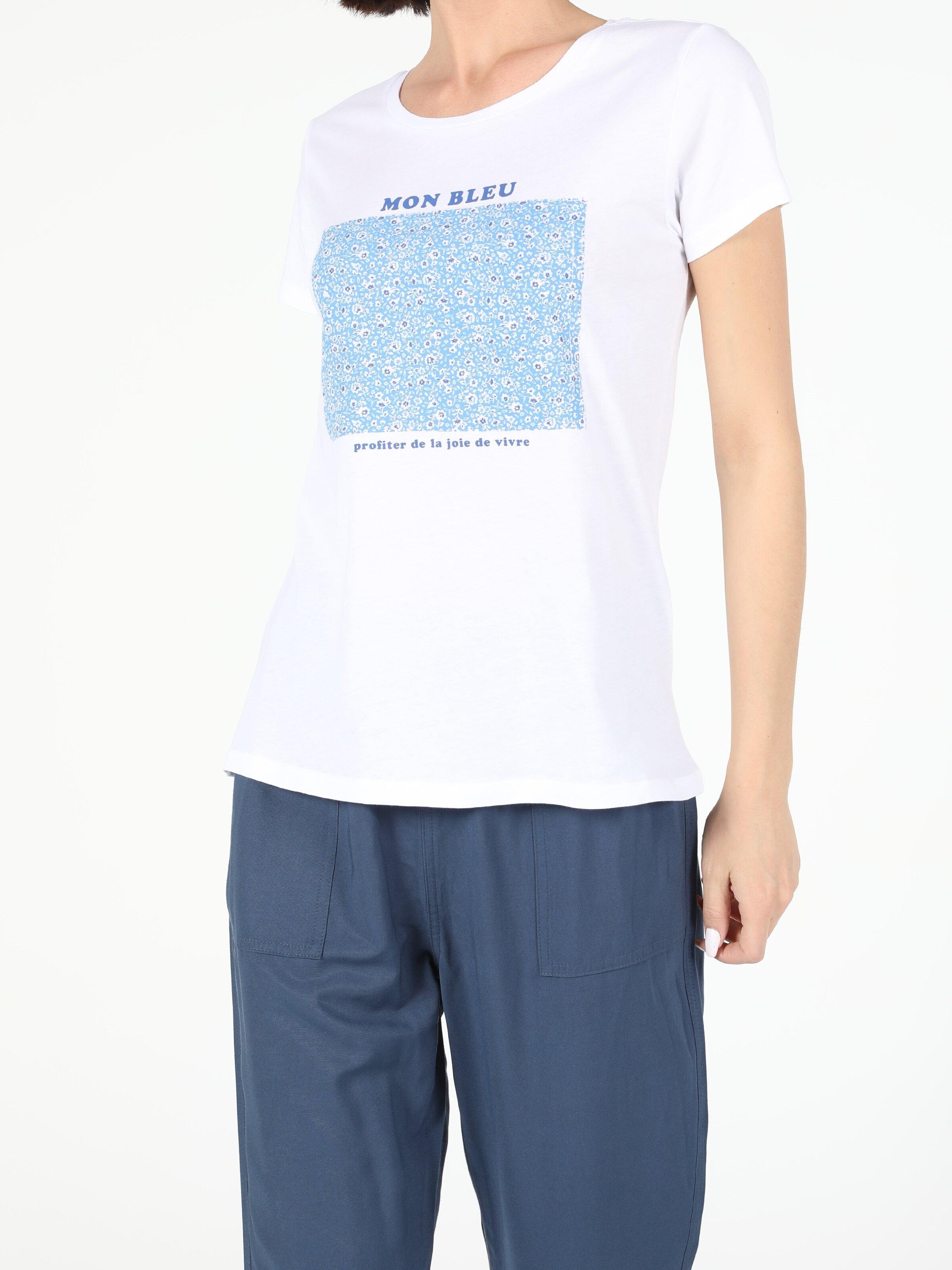 Показать информацию о Женская футболка с коротким рукавом regular fit CL1054414