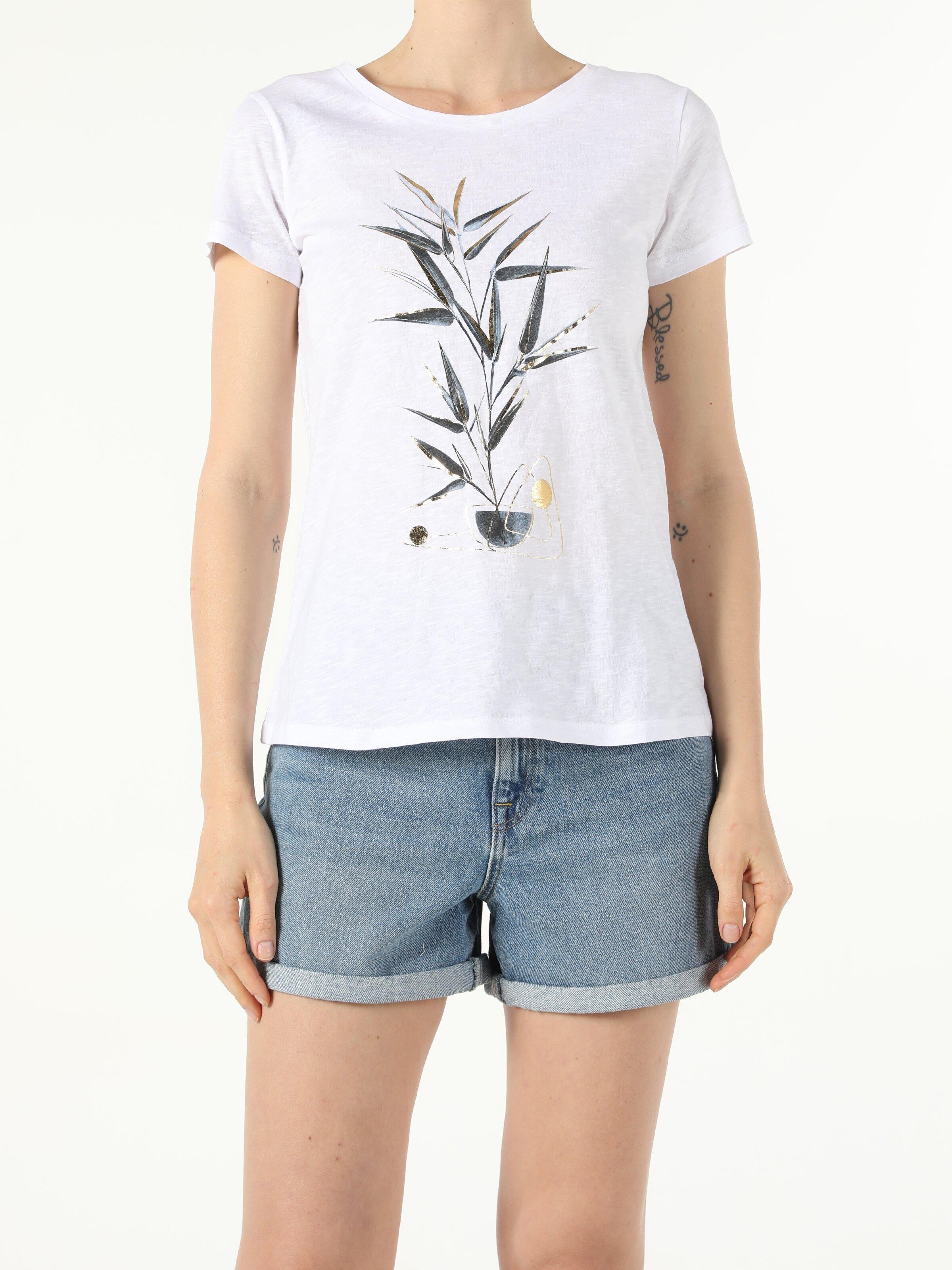 Показать информацию о Женская футболка с коротким рукавом regular fit CL1054409