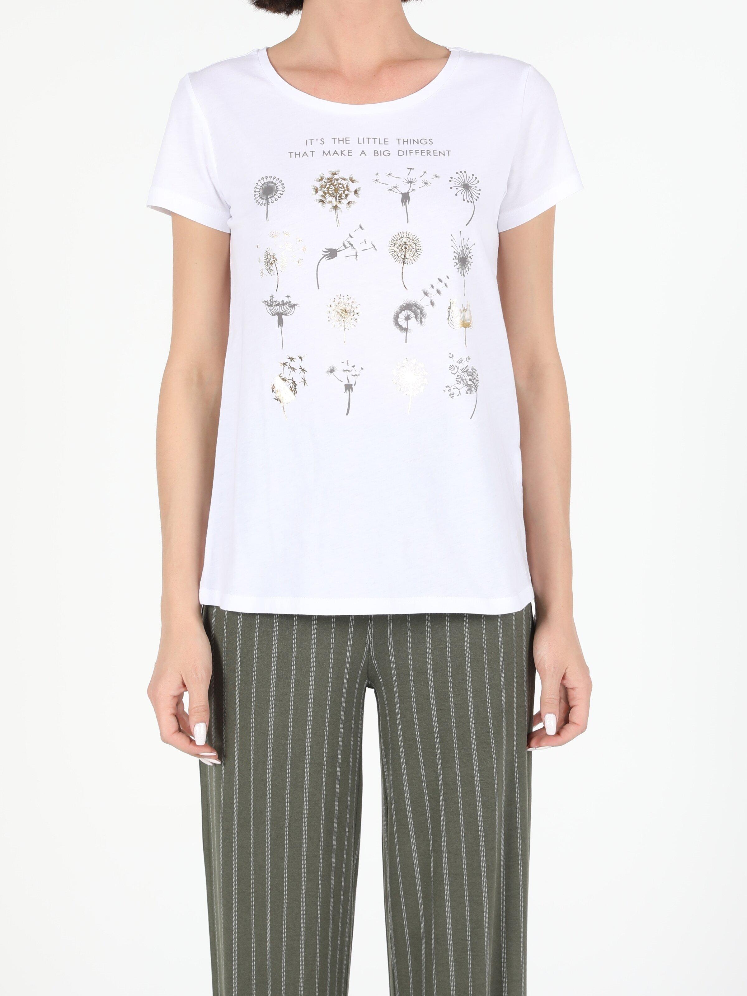 Показать информацию о Женская футболка с коротким рукавом regular fit CL1054306