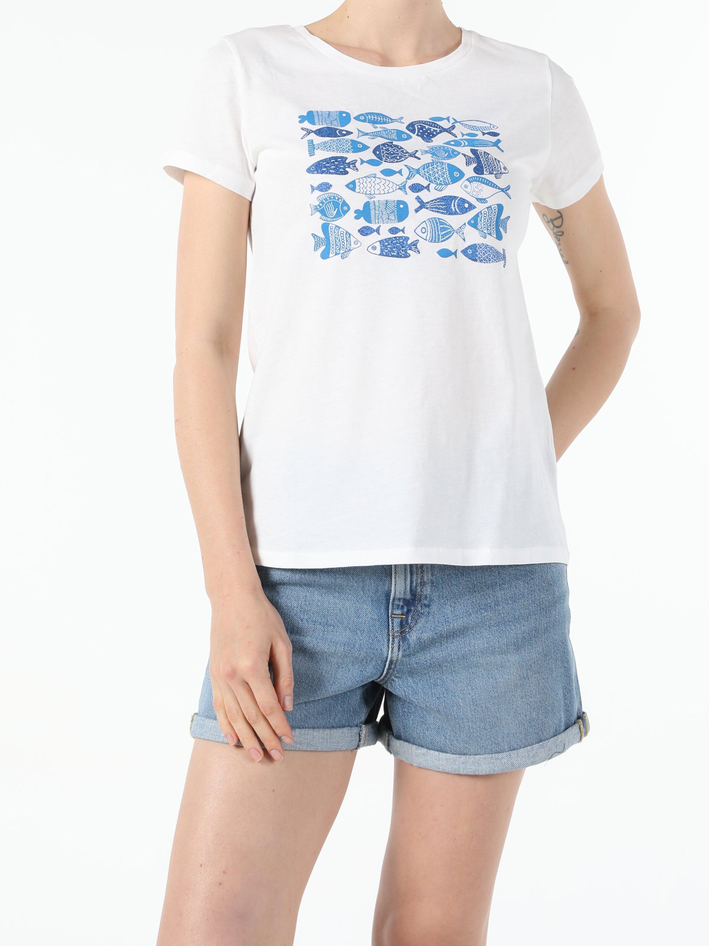 Показать информацию о Женская футболка с коротким рукавом regular fit CL1054062