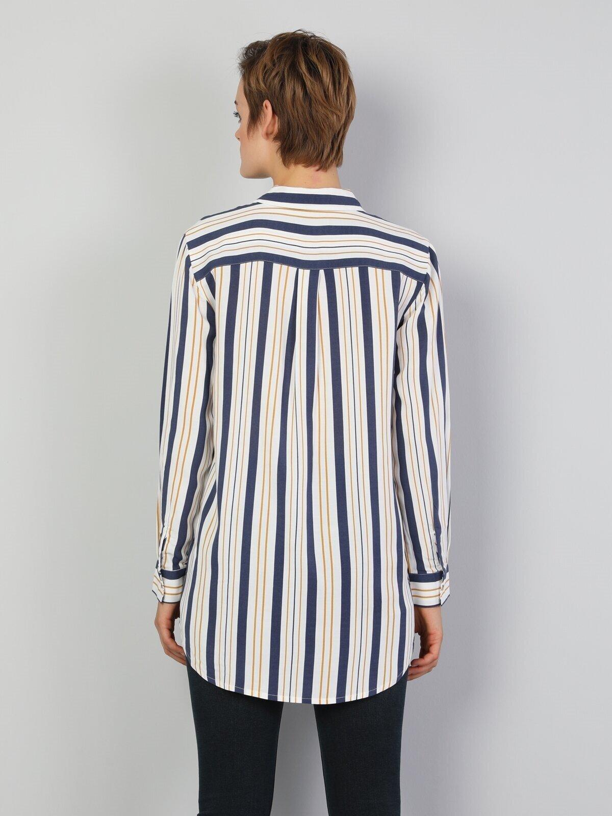 Показать информацию о Женская рубашка с длинним рукавом  CL1047265