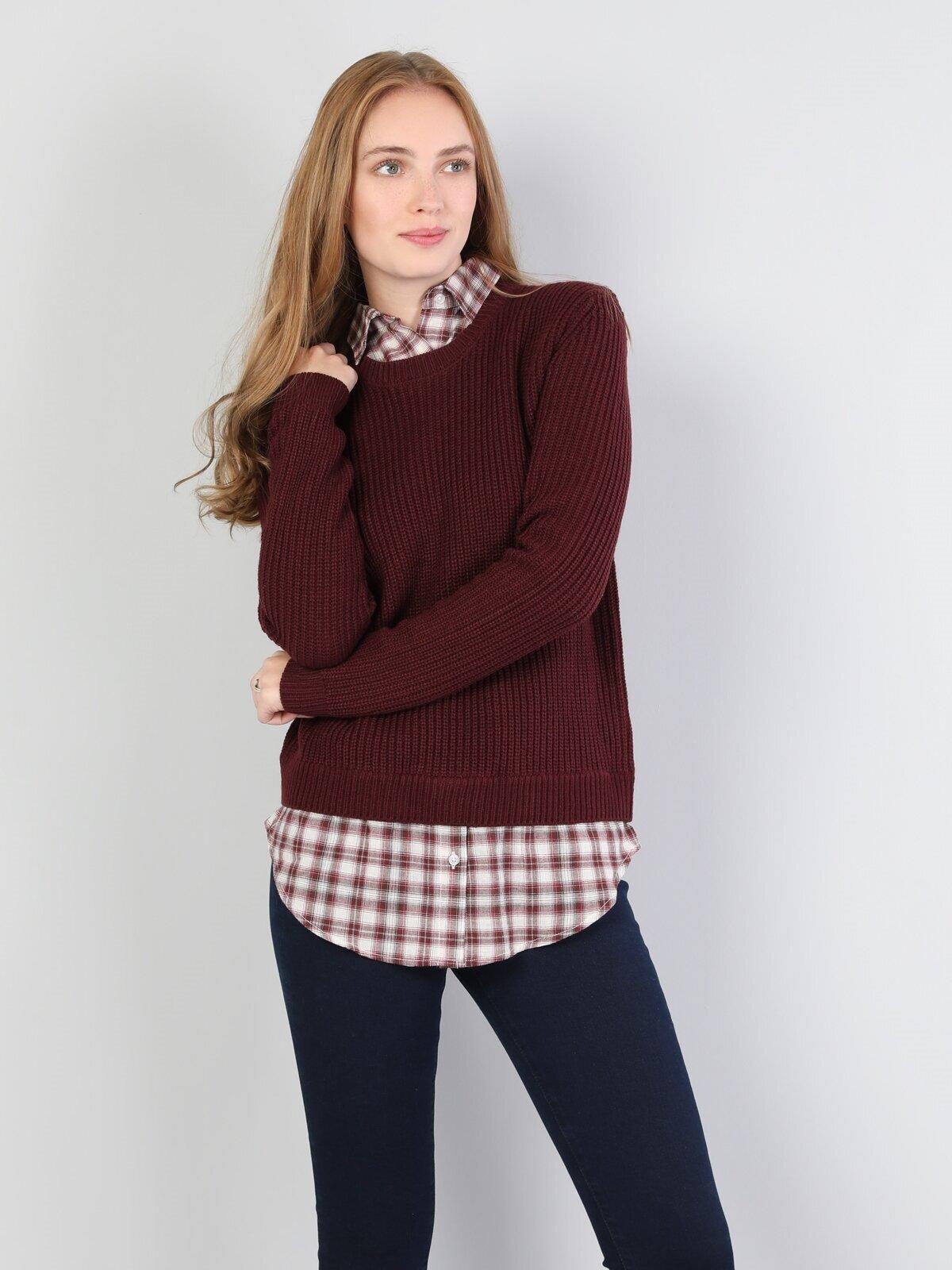 Показать информацию о Женский свитер regular fit CL1044874