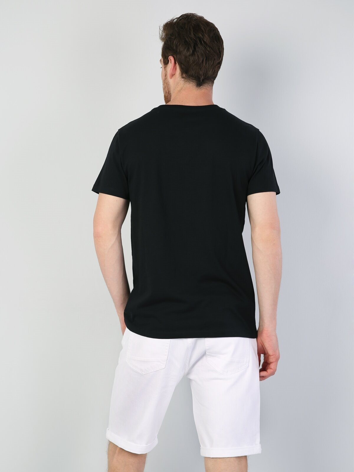 Показать информацию о Мужская футболка с коротким рукавом regular fit CL1044497
