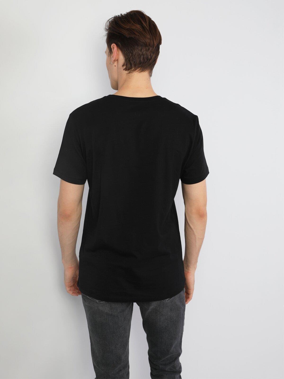 Показать информацию о Мужская футболка с коротким рукавом regular fit CL1046475