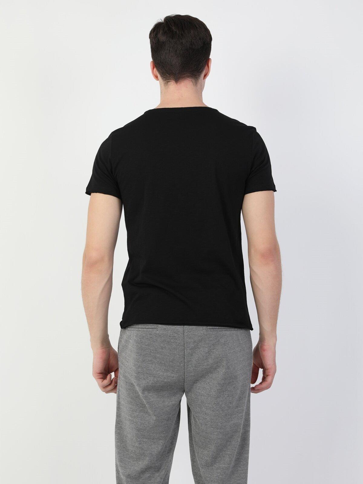 Показать информацию о Мужская футболка с коротким рукавом regular fit CL1048259