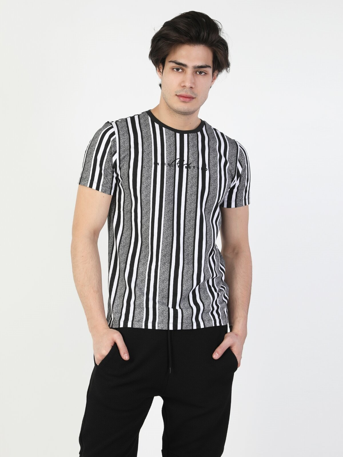 Показать информацию о Мужская футболка с коротким рукавом regular fit CL1049446