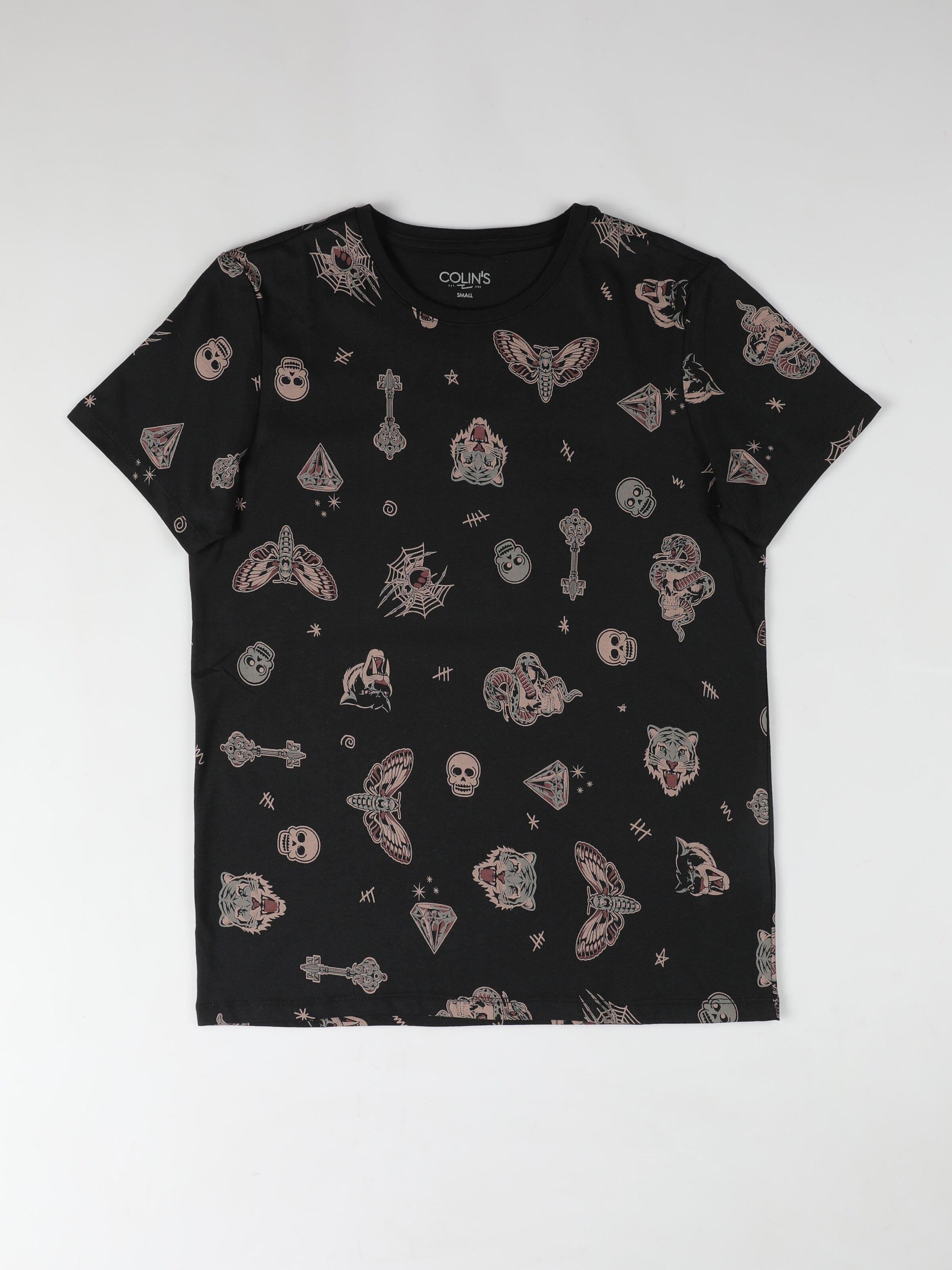 Показать информацию о Мужская футболка с коротким рукавом regular fit CL1052030