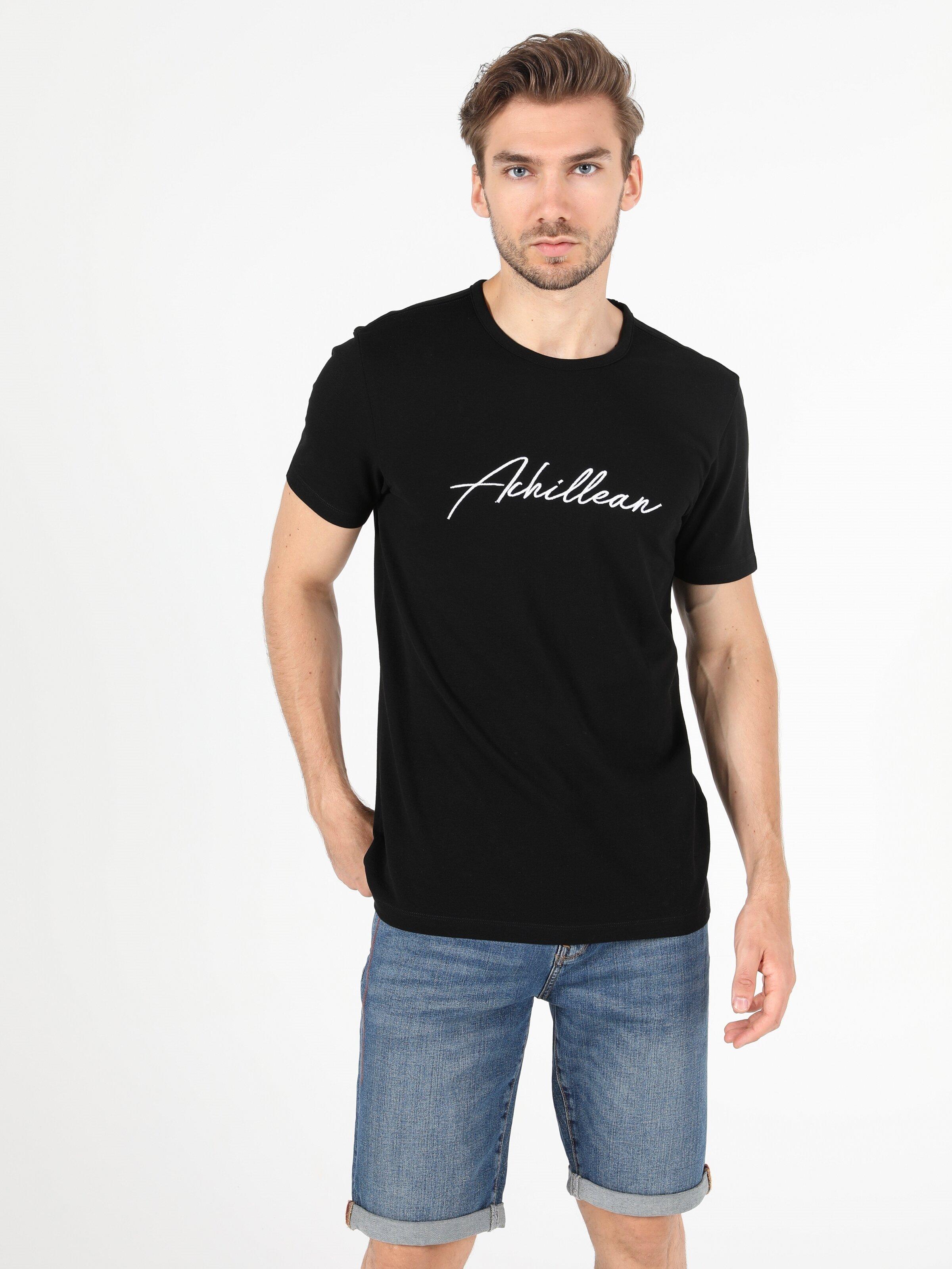 Показать информацию о Мужская футболка с коротким рукавом regular fit CL1049913