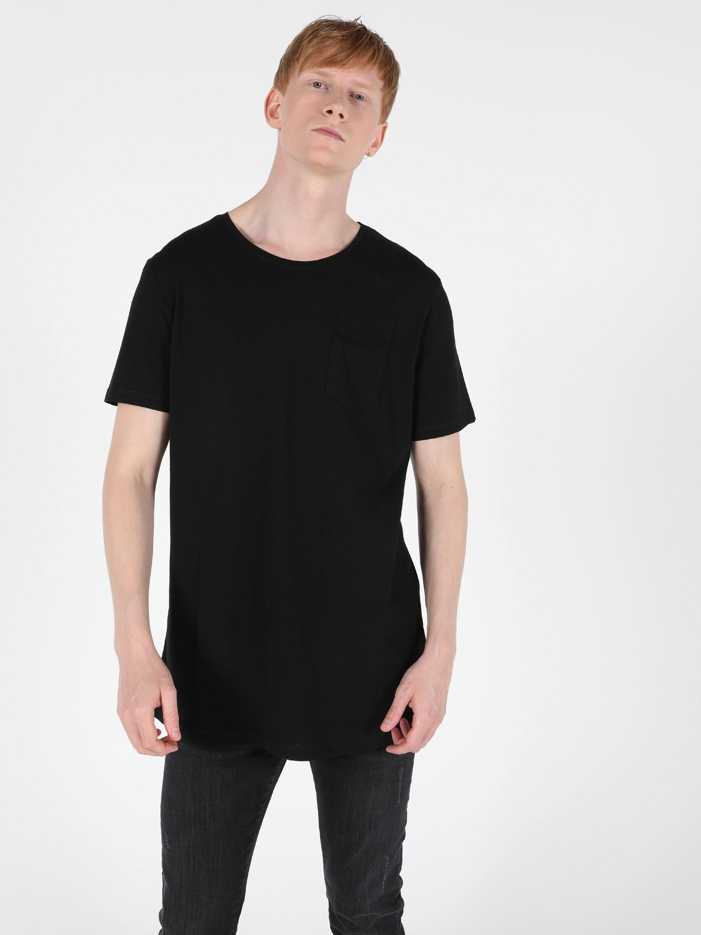 Показать информацию о Мужская футболка с коротким рукавом  CL1049938