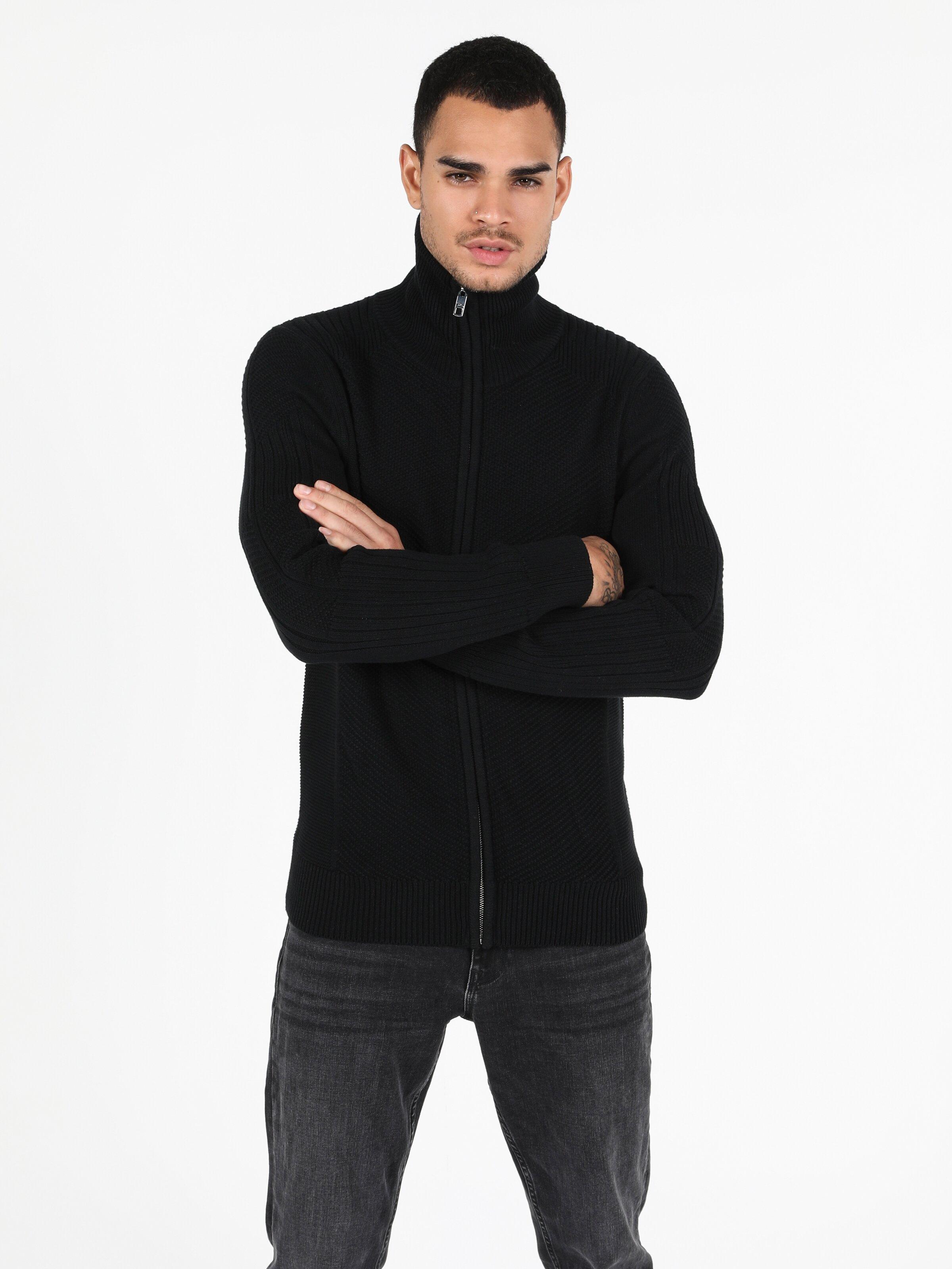 Показать информацию о Мужской кардиган slim fit CL1051630