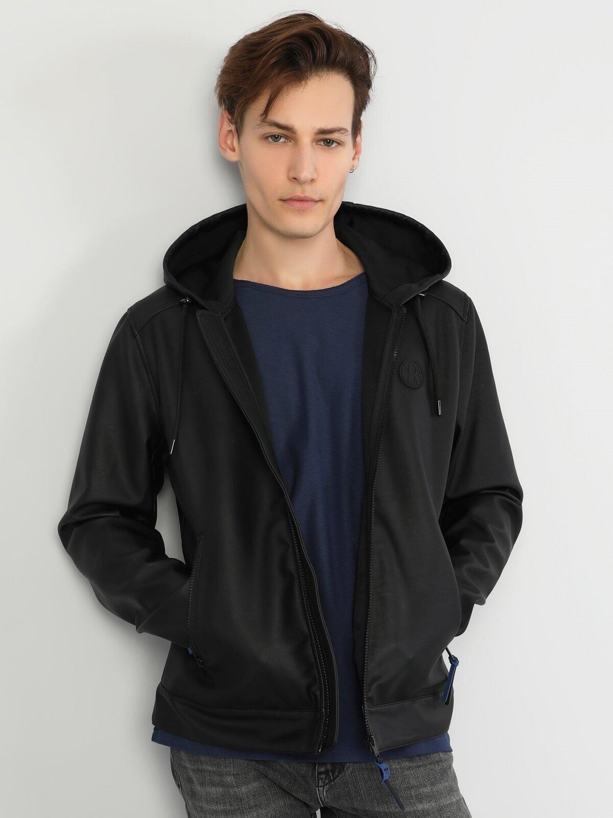 Показать информацию о Мужская куртка из эко-кожи slim fit CL1047913
