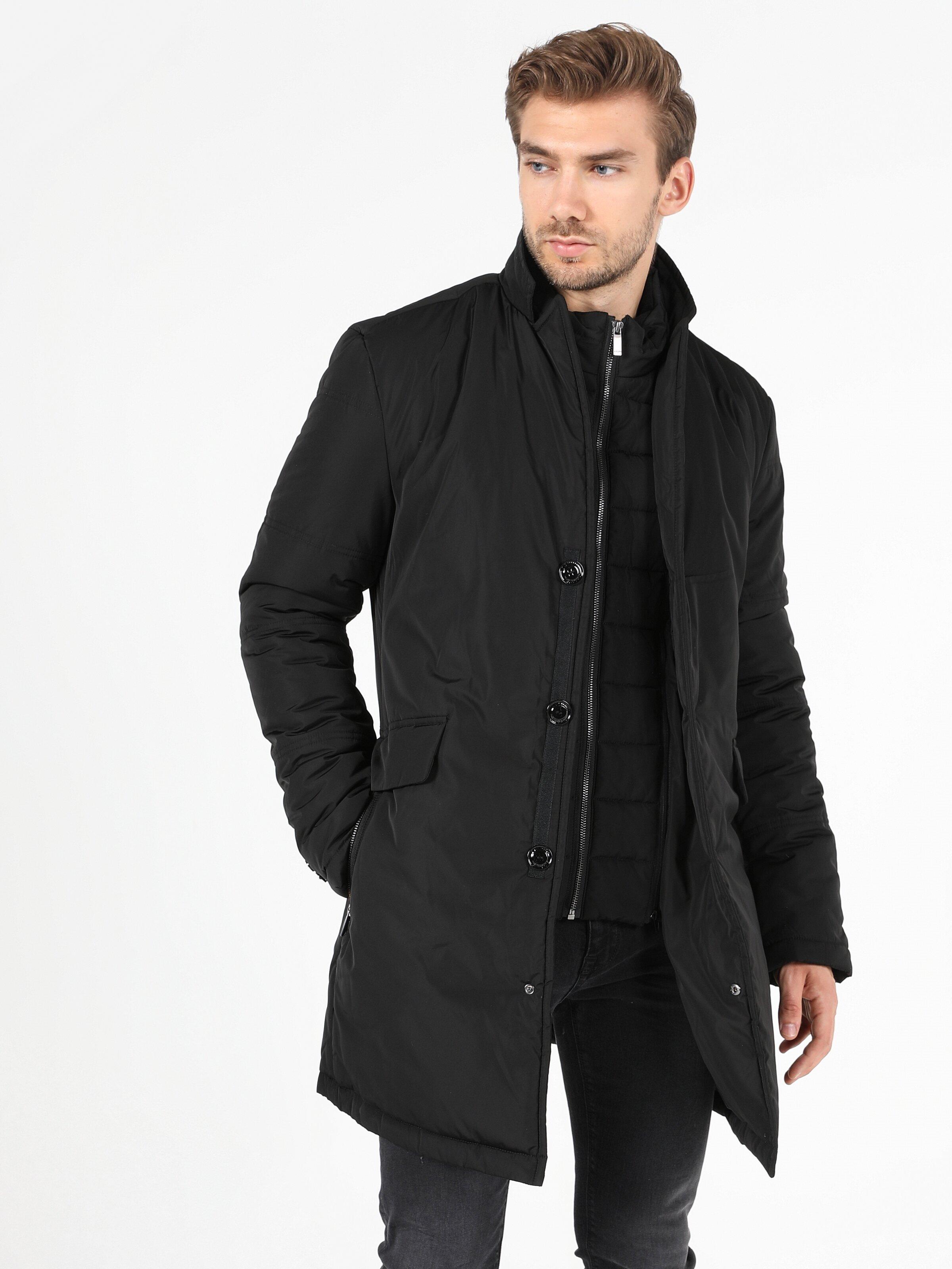 Показать информацию о Мужское пальто slim fit CL1051229