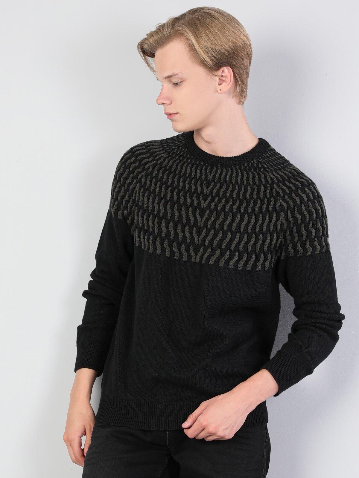 Показать информацию о Мужской свитер regular fit CL1045511