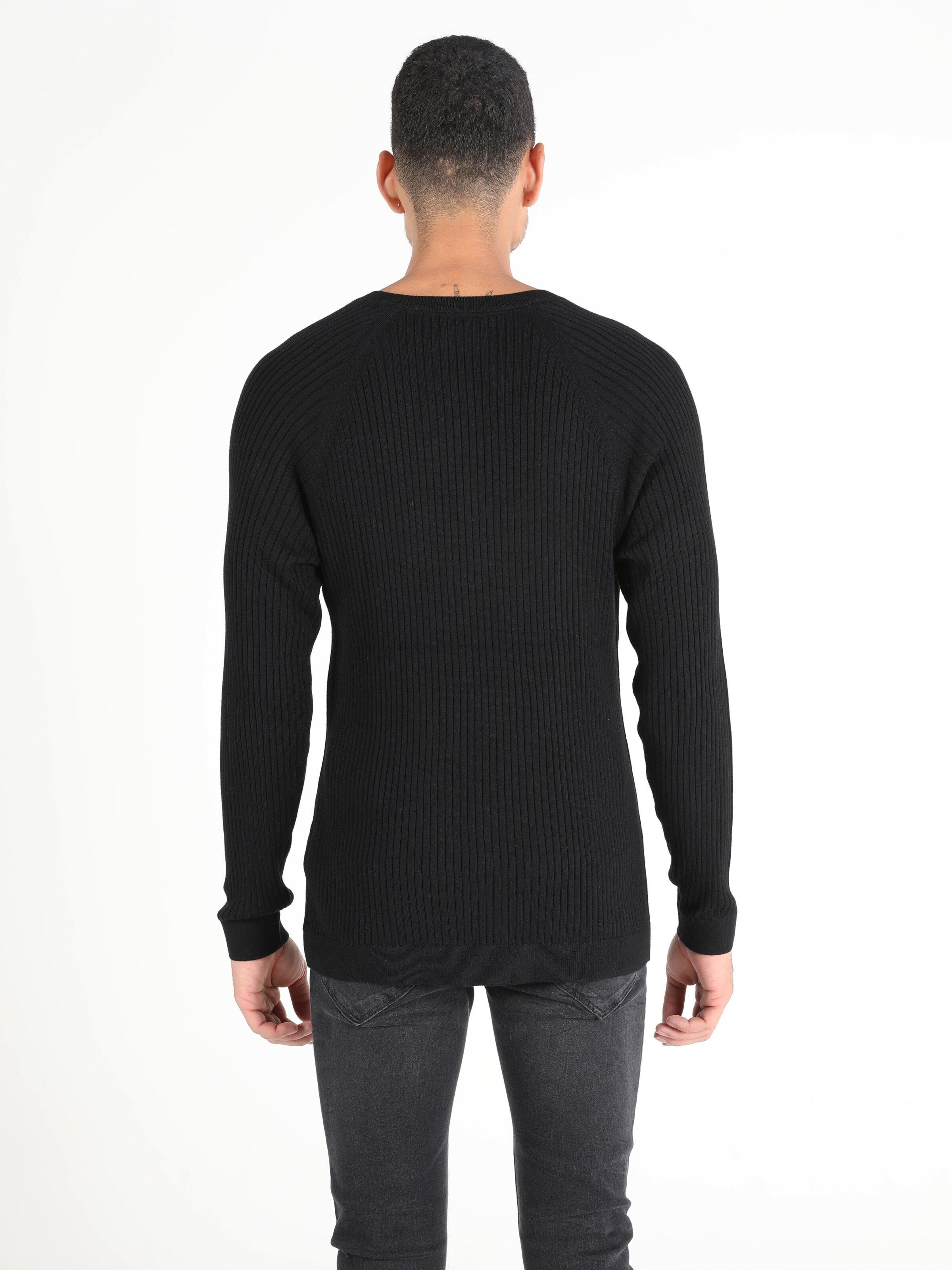 Показать информацию о Мужской свитер slim fit CL1050110