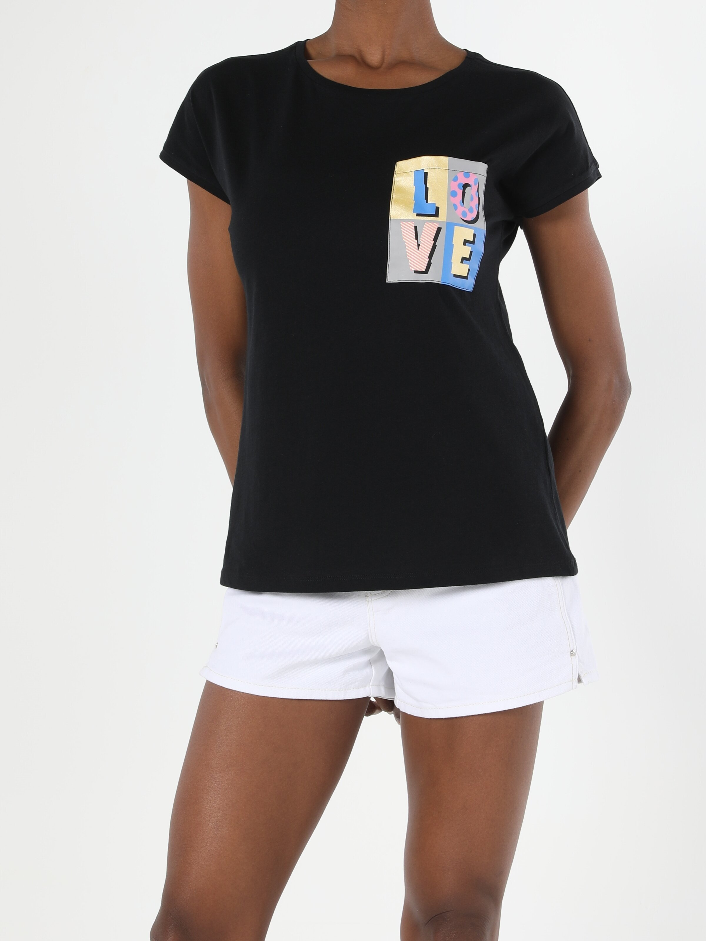 Показать информацию о Женская футболка с коротким рукавом regular fit CL1056410