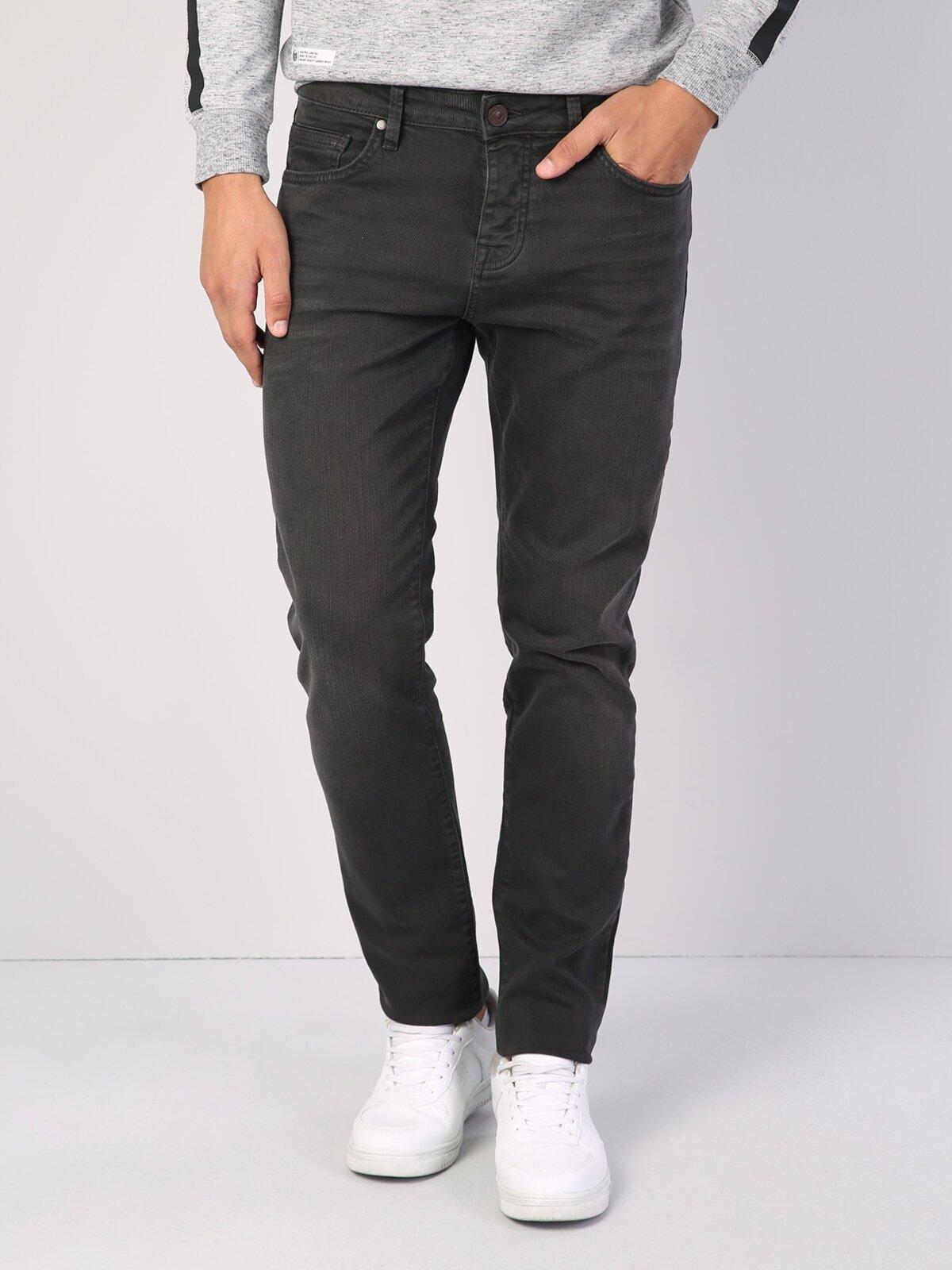 Показать информацию о Мужские прямые джинсы с низкой посадкой 044 KARL straight fit CL1006465
