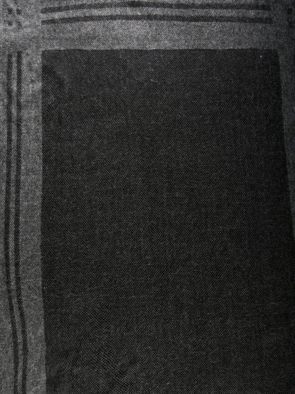 Изображение Черный муж. Шарфы
