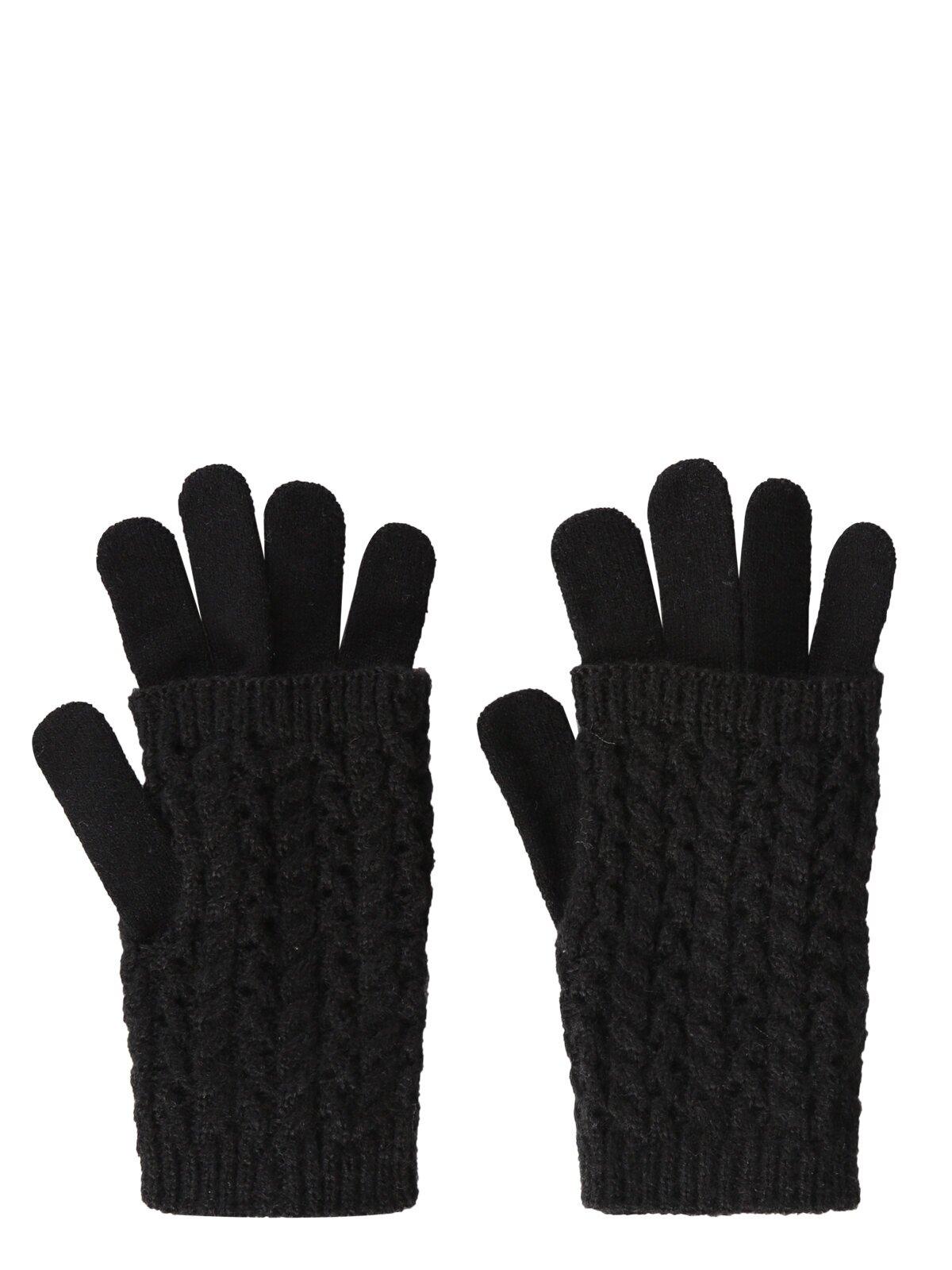 Изображение Черный жен. Перчатки
