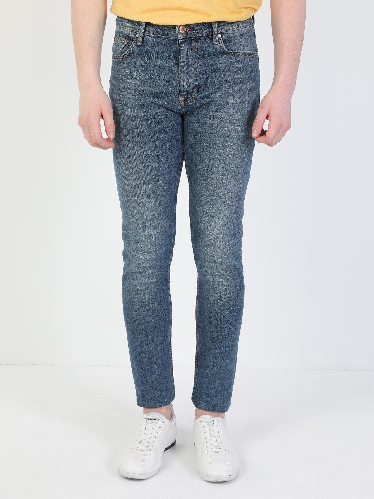 Показать информацию о Мужские зауженные джинсы Skinny Fit CL1049559