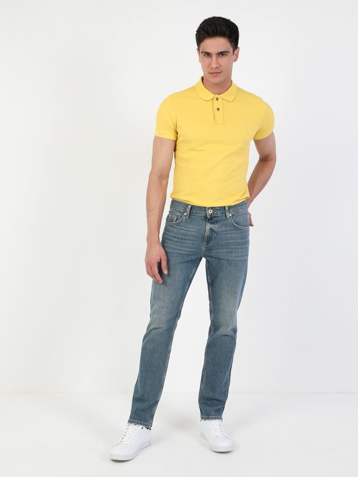 Показать информацию о Мужские прямые джинсы  044 KARL straight fit CL1045908