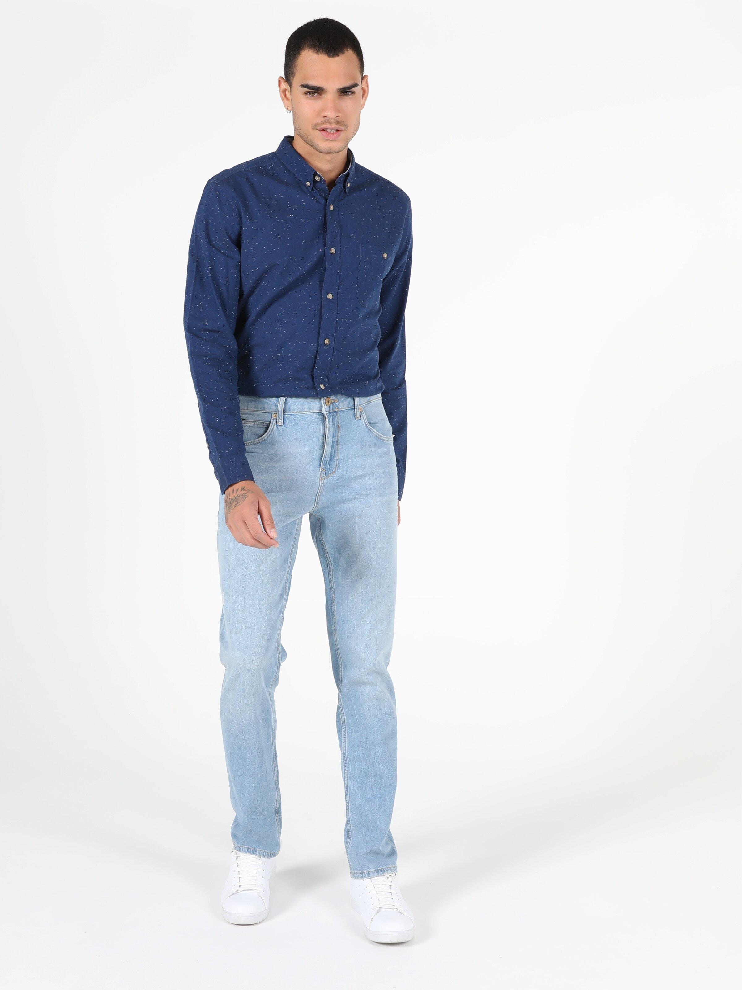 Показать информацию о Мужские прямые джинсы  044 KARL straight fit CL1050266